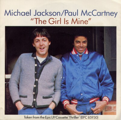 The Girl Is Mine (USA 7'' SIngle)