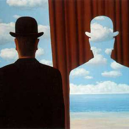 Magritte-Decalcomanía