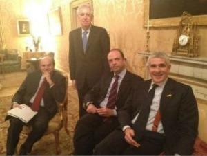 Foto allegata a un tweet del 15 marzo 2012 di Pier Ferdinando Casini