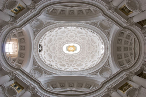 4_Francesco Borromini San Carlo alle Quattro Fontane cupola