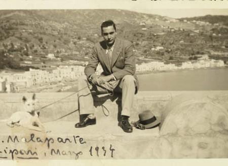 Malaparte_Lipari_1934