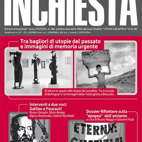 Inchiesta n. 186 ottobre-dicembre 2014