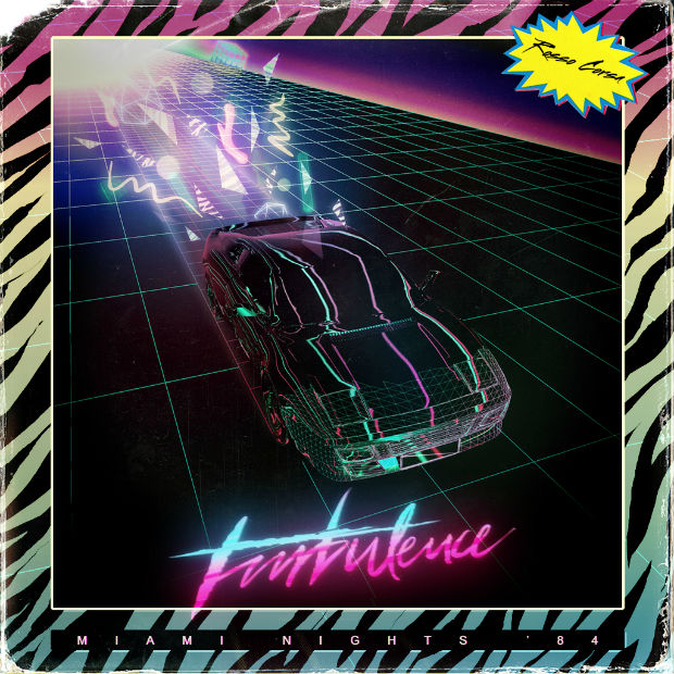 Miami Nights '84 Turbulence (2014)_copertina