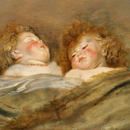 Peter Paul Rubens Two Sleeping Children_1612-13 ca