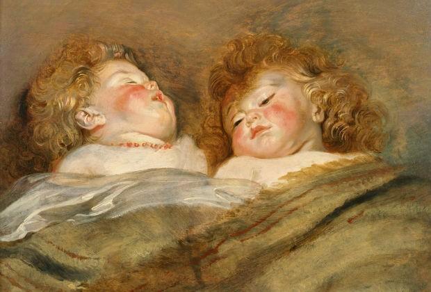 Peter Paul Rubens Two Sleeping Children_1612-13 ca