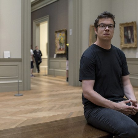Author Ben Lerner visits the the Metropolitan Museum of Art in New York.