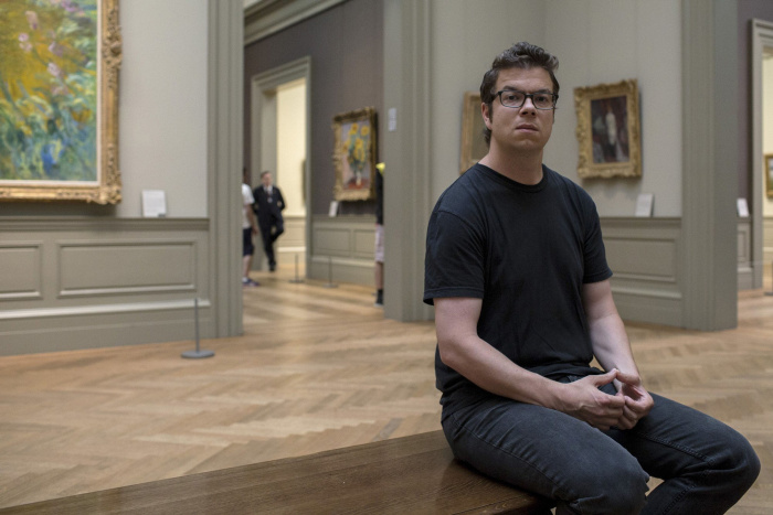 Author Ben Lerner visits the the Metropolitan Museum of Art in New York.