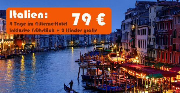 Italien-Venedig-Urlaub