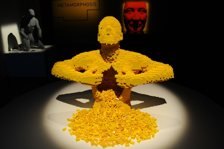 Atmosphere== Nathan Sawaya's ART OF THE BRICK Opening Reception== Discovery Times Square, NYC== June 12, 2013== ©Patrick McMullan== Photo- Paul Bruinooge/PatrickMcMullan.com== ==