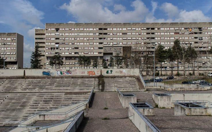 Die Arena sollte für Nachbarschaftsfeste genutzt werden. Aber dafür fehlt das Geld.