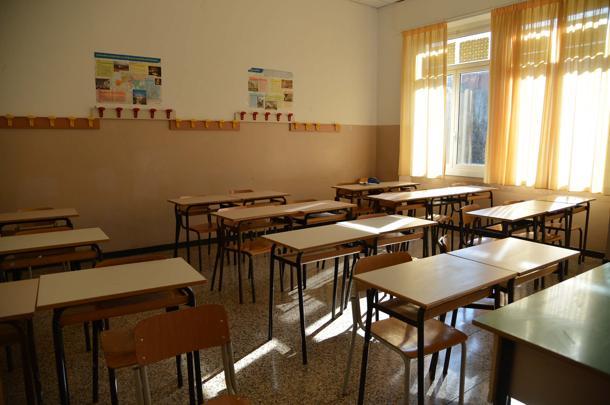 08/02/2013 Rapallo Sopralluogo scuola evacuata Liceo Da Vigo tecnici comune e provincia