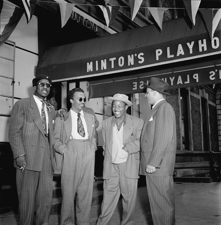 2_Minton's Playhouse (settembre 1947)_Thelonious Monk, Howard McGhee, Roy Eldridge, Teddy Hill