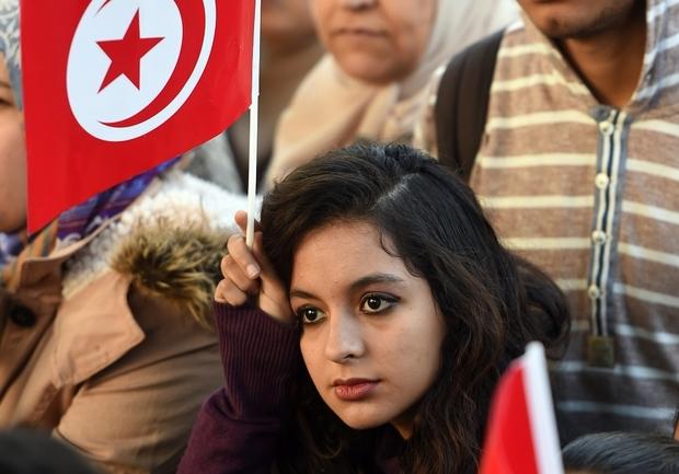 TUNISIA-POLITICS-REVOLUTION-ANNIVERSARY