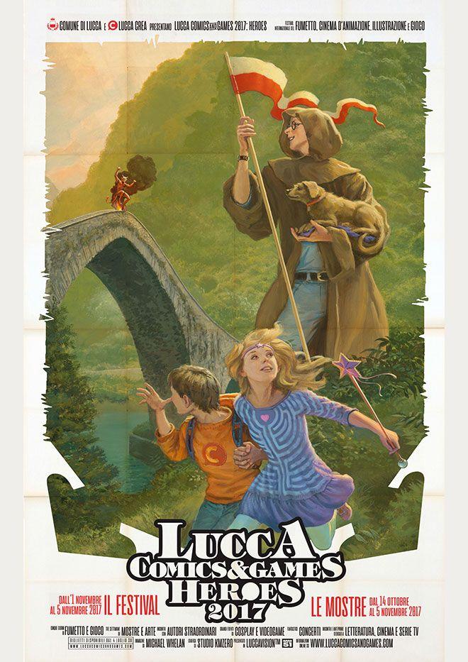 Poster-Lucca-Comics-2017