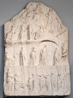 Apoteosi di Omero, III sec. a.C. British Museum